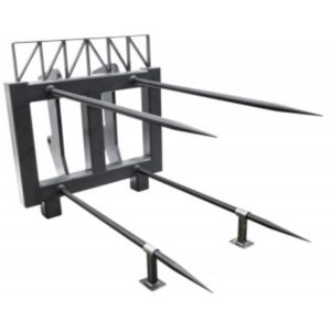 cotton bale spear frame